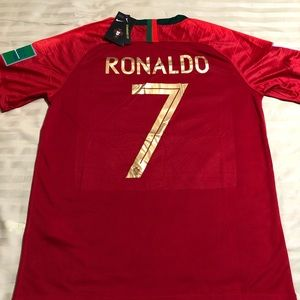 buy popular 719ee 927a8 🇵🇹 Ronaldo Portugal World Cup Jersey -2018/19 NWT